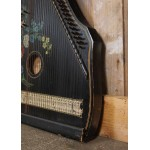 Oude antieke zither 'Welt record' - citer - pianoharp